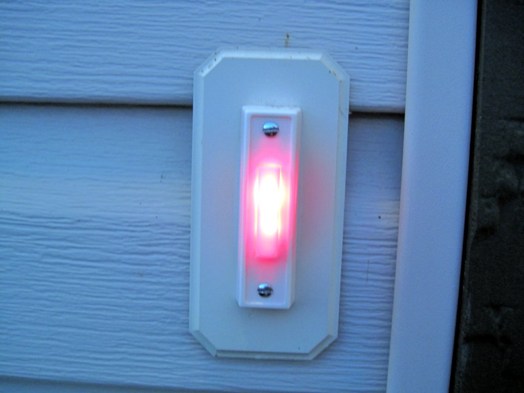 Doorbell Button with RED LED's