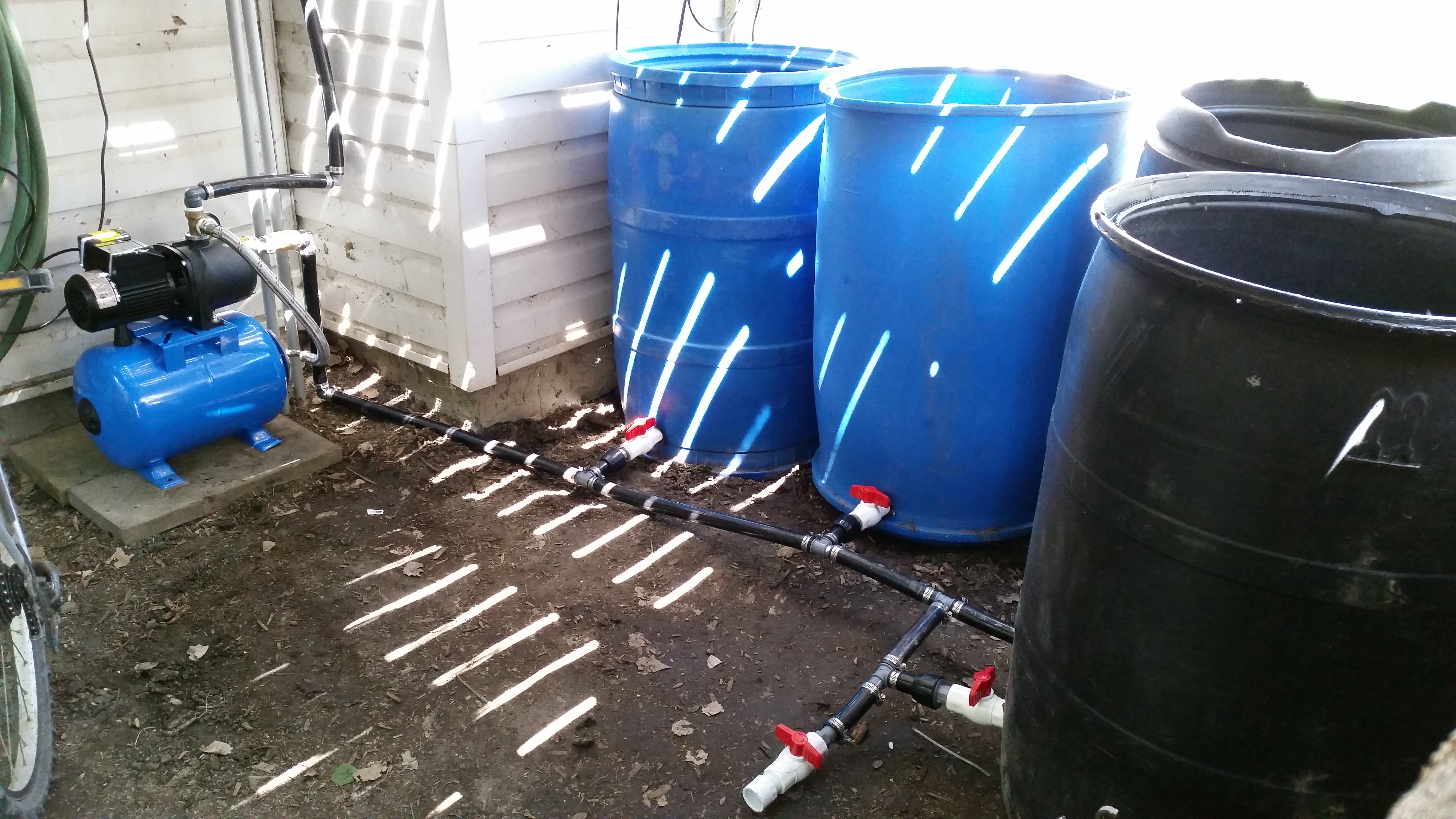 Rain Water Reclaimation System